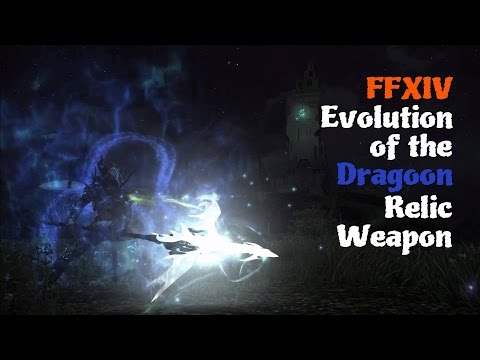 FFXIV Evolution of the Dragoon Relic Weapon [Feat. Ishgard Day Theme (Solid)]