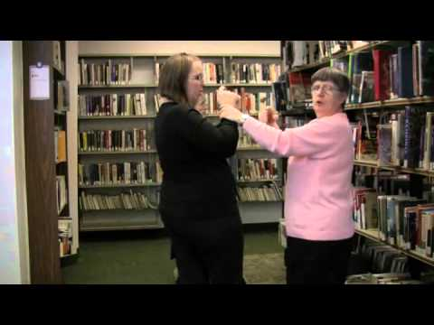 Deafblind Communication - Getting to Know the Library in ASL