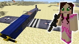 Minecraft: CRAZY EXPLODING PLANES MISSION - The Crafting Dead [46]