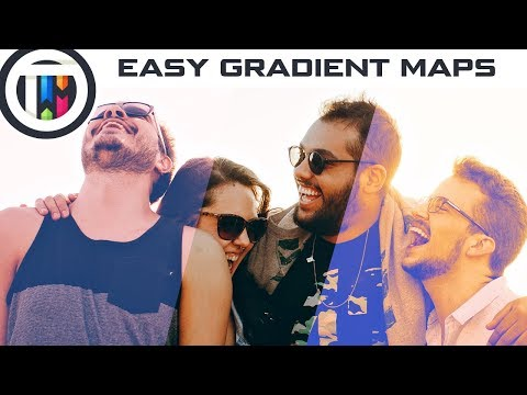 GIMP Tutorial - How to use Gradient Maps