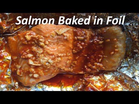 Easy Recipe: Salmon Baked in Foil
