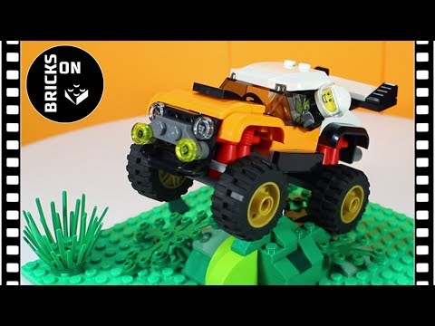 LEGO CITY 60146 STUNT TRUCK Speed Build Instruction Lego Stop Motion Animation