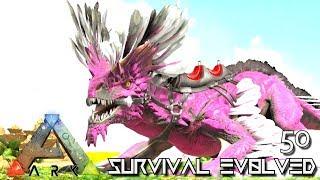 ARK: SURVIVAL EVOLVED - ALPHA ROCK DRAKE & THYLACOLEO E50 !!! ( ARK  EXTINCTION CORE MODDED ) - getplaypk