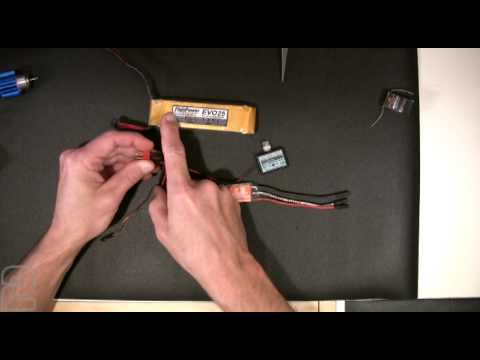RC Motor and ESC Wiring - Part 1