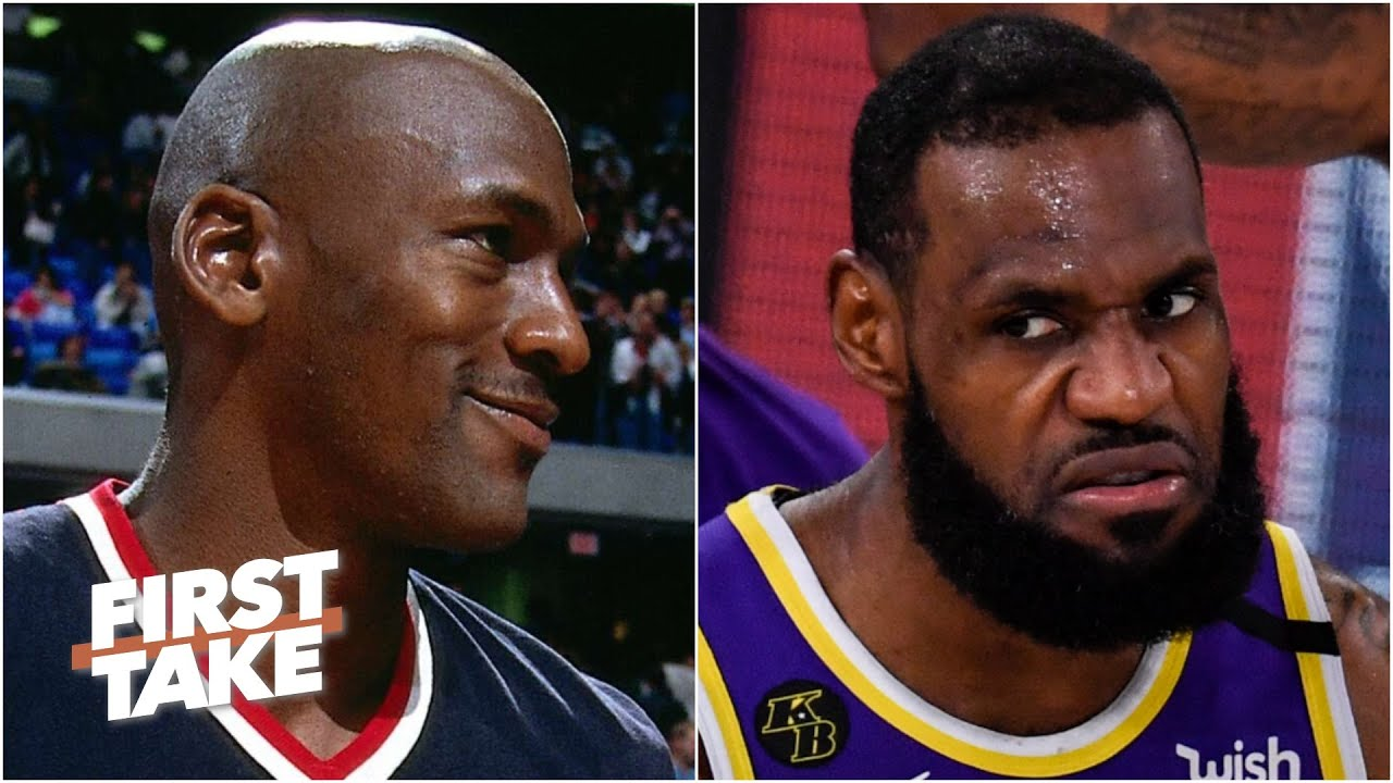 Will LeBron close the gap on MJ if the Lakers take down the Heat? First Take debates