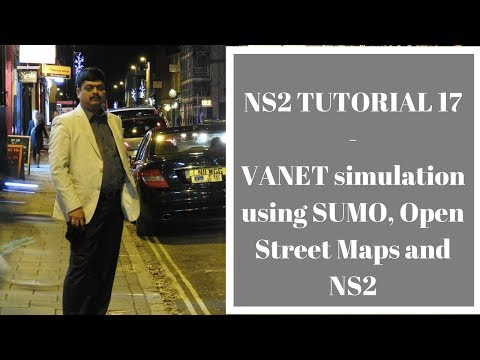 VANET Simulation Using SUMO and OpenStreetMap - NS2 Tutorial