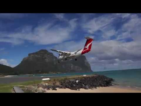 Flying to Lord Howe Island - Thornleigh Farm