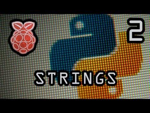String Variables 2 - Manipulating Strings (Python)