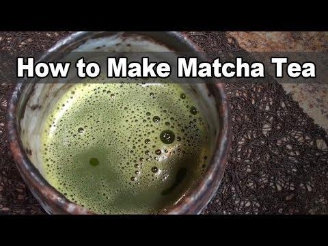How to Make Matcha Tea - Dr. Jim Nicolai