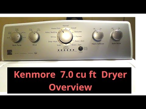 Kenmore 7.0 Cu Ft Electric Dryer (available in gas version)