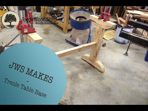 JWS Makes - Making A Trestle Base From Scrap Timber