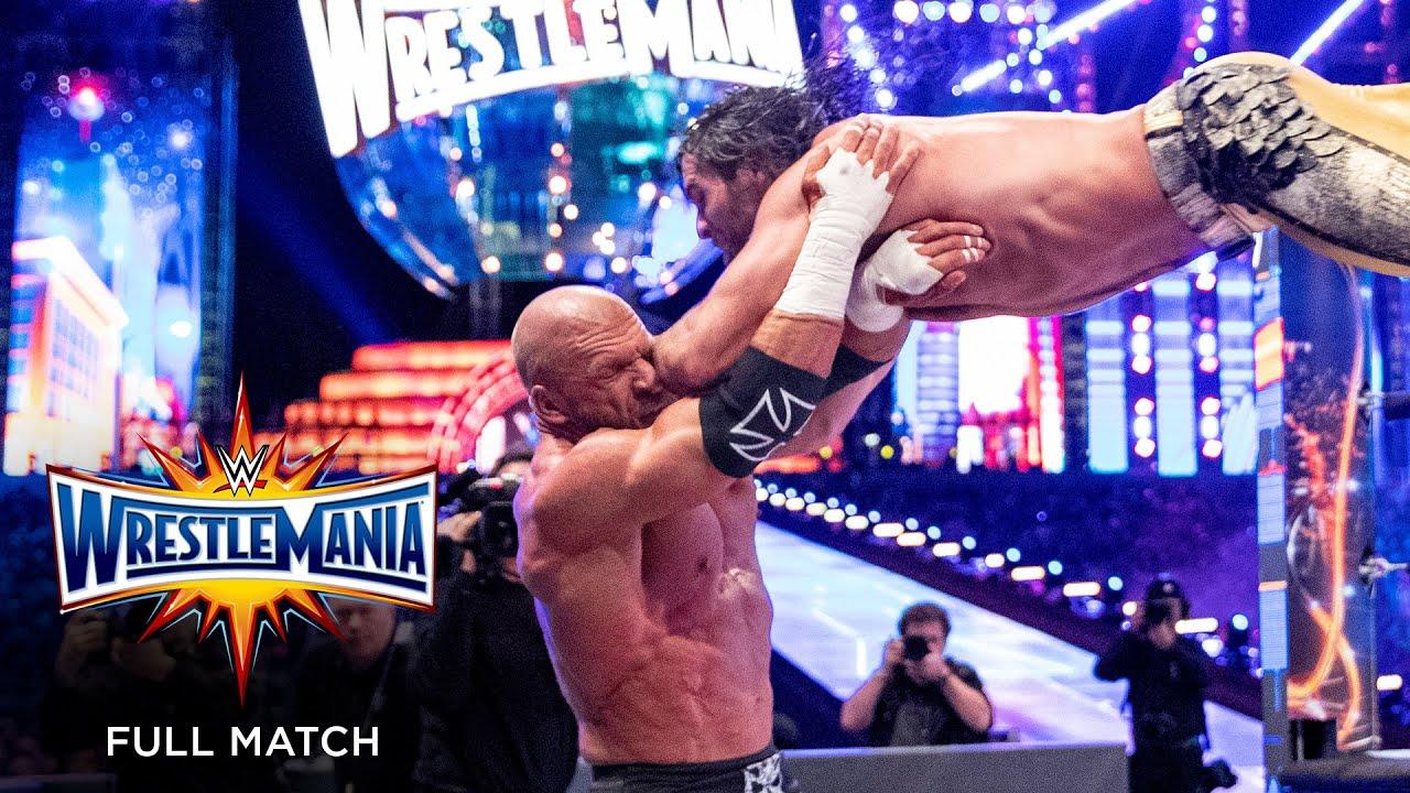 FULL MATCH - Seth Rollins vs. Triple H – Unsanctioned Match: WrestleMania 33