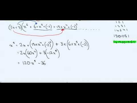 Binomial Expansion Term Coefficient | IB Math Academy