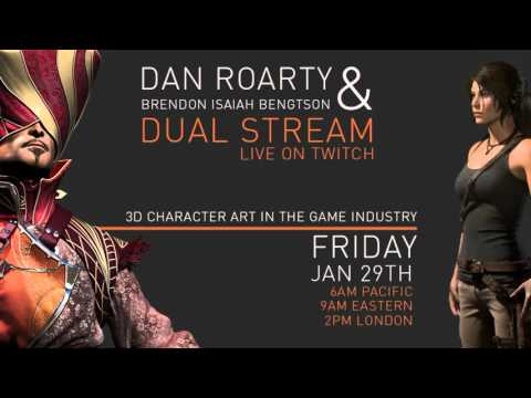 3D Character Art in the Game Industry with Dan Roarty