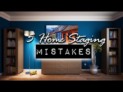 5 Biggest Home Staging Mistakes Home Sellers Make   DIY & Home Design