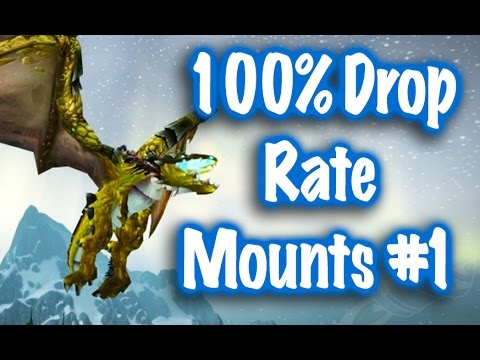 Jessiehealz - 100% Drop Rate Mounts #1 (World of Warcraft)