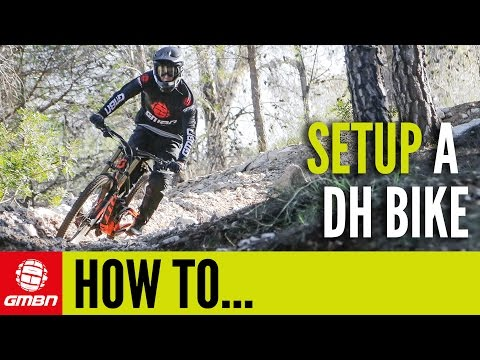 How To Set Up A Downhill Mountain Bike - Get The Perfect Custom Fit