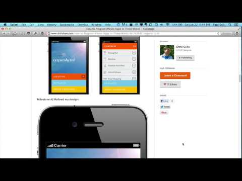 Create Your First iPhone Apps for iOS 7 - Kickstarter Courses for Beginners