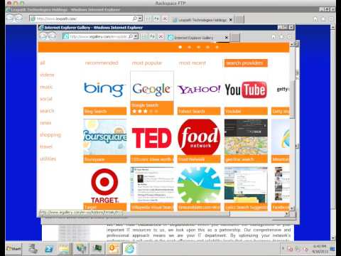 Change Default Search Provider