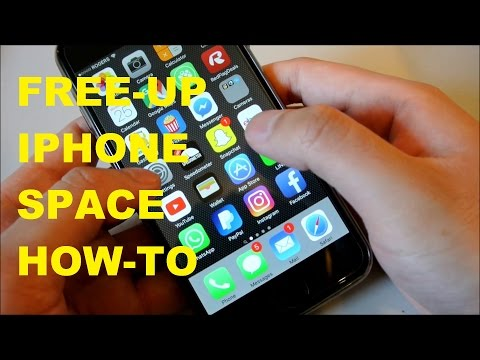 EASIEST IPHONE HACK to Free Up Storage Space