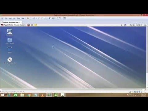 how to configure IP address in RHEL 6 on vmware