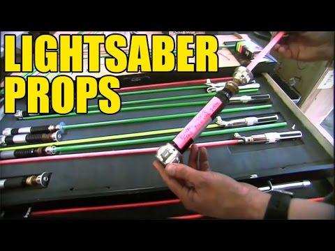 Star Wars Episode III Lightsaber Props