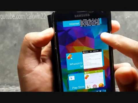 Samsung Galaxy S5 : How to Close Apps (Android Phone)