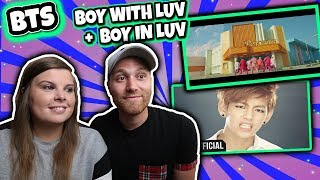 Download BTS (방탄소년단) Boy In Luv (상남자) and Boy With Luv feat. Halsey Official MV Reaction Video