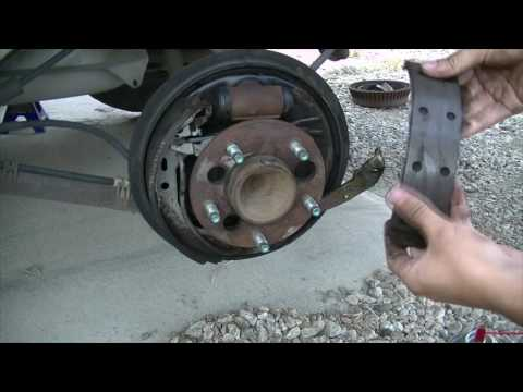 1998 Chevy Lumina: How to Replace Rear Brake Shoes and Brake Drum
