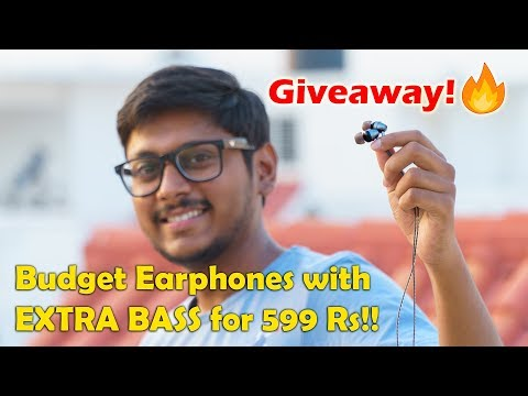 Sound One E10 Budget Earphones with EXTRA BASS | Review & Giveaway!