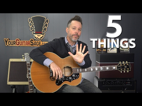5 Things you MUST Know That Your Guitar Teacher Never Told You