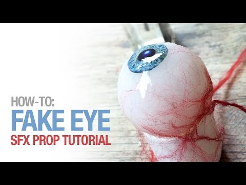 How to create a fake eye