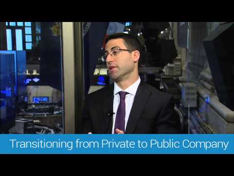 Transitioning from a Private to Public Company