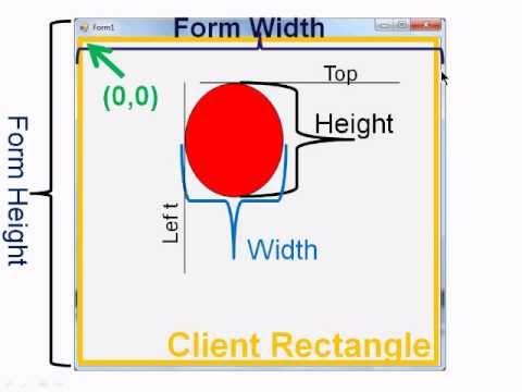 Visual Basic 2010 Express Tutorial 12 - Bouncing Ball Animation