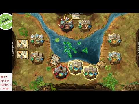 Evolution the VIDEO GAME kickstarter now 4 player AI beta