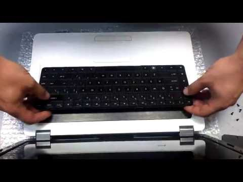HP G62 How To Replace Laptop Keyboard