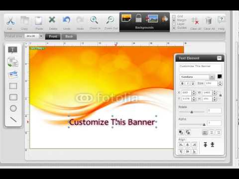 How to Create Custom Vinyl Banners Online