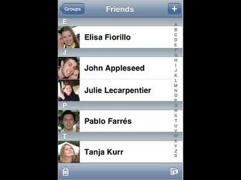 How to remove Facebook friends from iPhone contacts