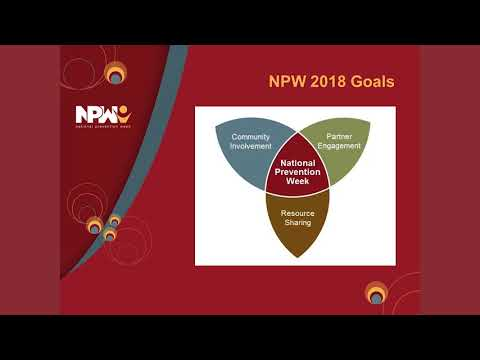 National Prevention Week 2018: Start Planning!