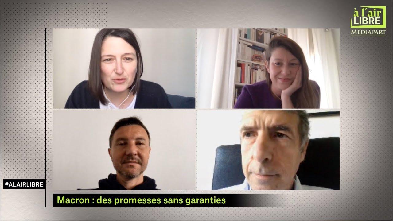 À l'air libre (20) Macron les promesses sans garanties, les effets psy du confinement