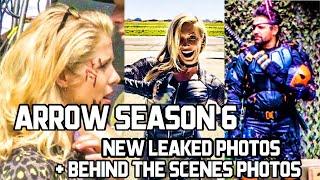 Arrow Season 6 Leaked Photos + Behind The Scene Photos ! Ft Deathstroke !!! The CW ! Arrow Season 6