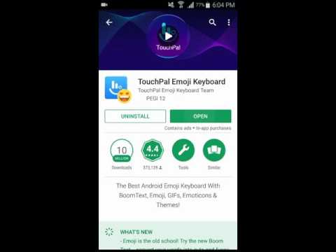 TouchPal Emoji Keyboard for Android - A Complete Video Review