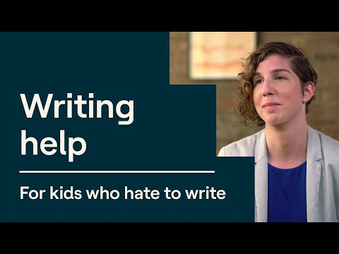 Writing Tips for Kids Who Hate to Write