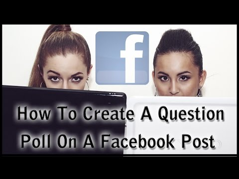 How To Create A Question Poll On Facebook Post