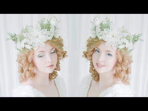 Glittery Winter Headpiece - Tutorial