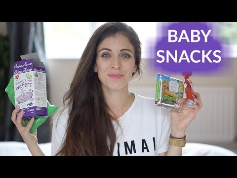 5 MUST HAVE BABY SNACKS