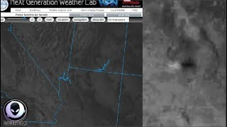 MYSTERY UFO Speeds By Weather Satellite 10/21/17