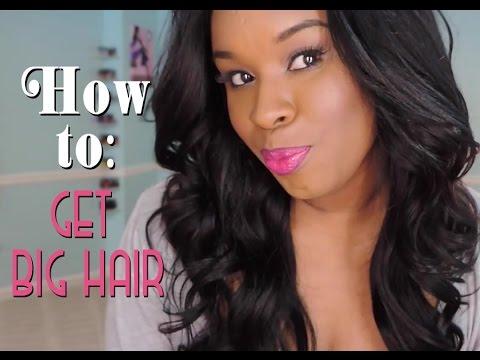 Big, Sexy Curls Tutorial in 15 minutes | How to get voluminous curls
