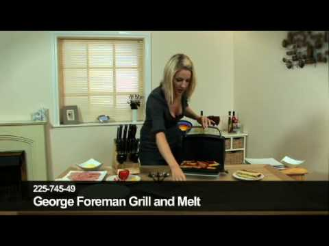 24Studio George Foreman Grill and Melt