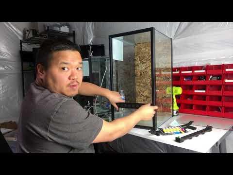FrogFace v4: Aqueon 20 Gallon High vertical conversion kit.